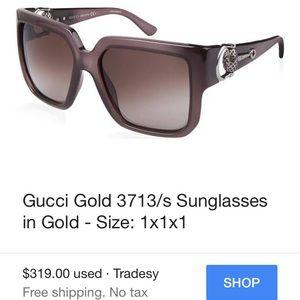 c05f7adf1c Gucci Accessories - 🕶Gucci Sunglasses w case!   3713 s